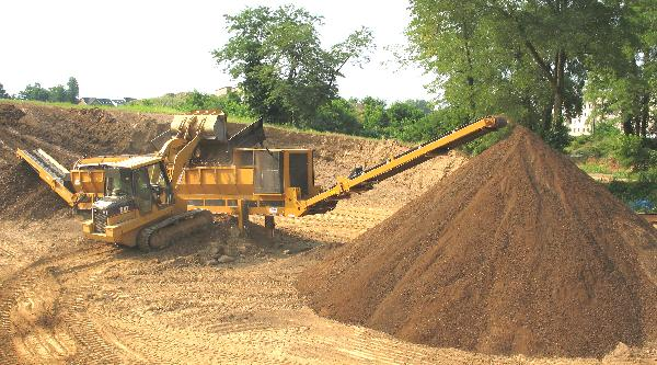 Charles o 39 malley screened topsoil for Screened soil